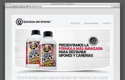 Químicos de Occidente WebSite